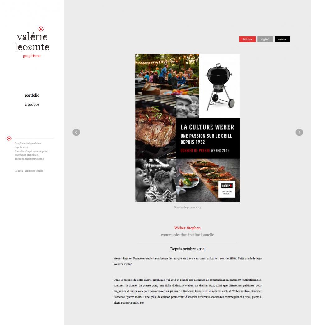 Valerie Lecomte - portfolio